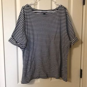 Boatneck tee shirt. Karen Scott. Size 3X